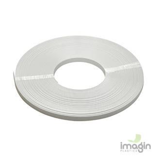 PVC 13mm STRIP WHITE