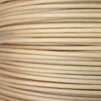 Wood-Filled PLA 3mm Light Brown 1KG